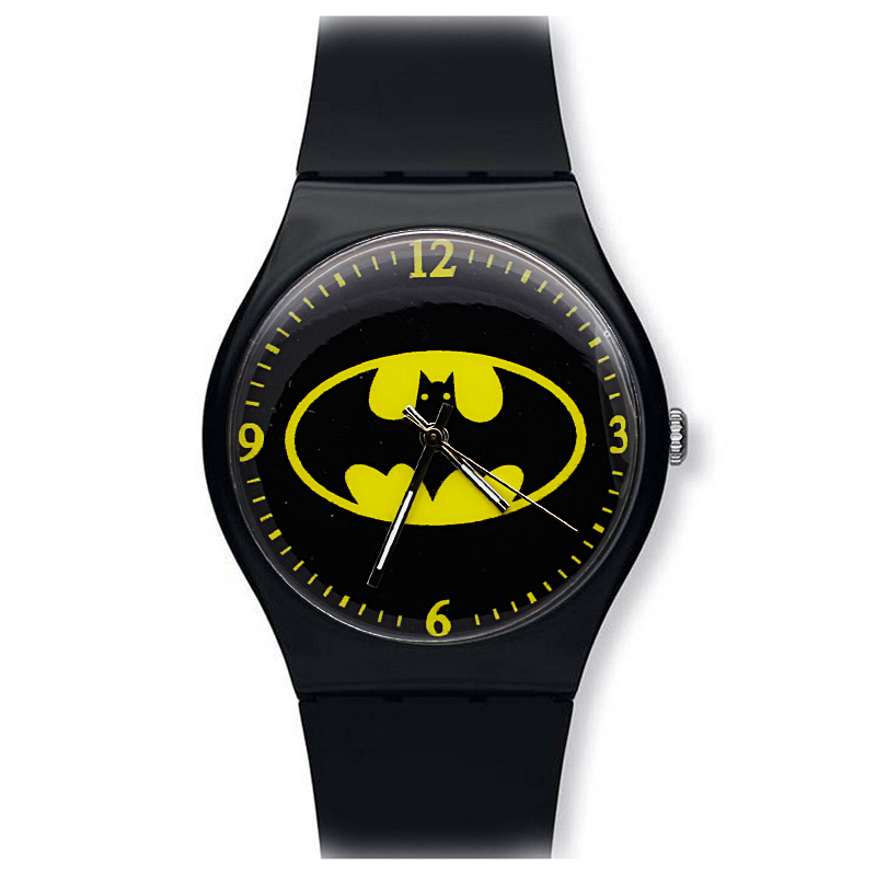 ot03 Batman Children Watch Fashion Watches Quartz Wristwatches Jelly Kids Clock boys girls Students Wristwatch fashion casual children watches analog quartz watch waterproof jelly kids clock boys girls hours students wristwatch