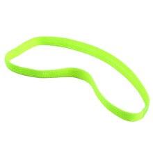 Women Men yoga hair bands Sports Headband Anti-slip Elastic Rubber Sweatband Football Yoga Running biking free shipping