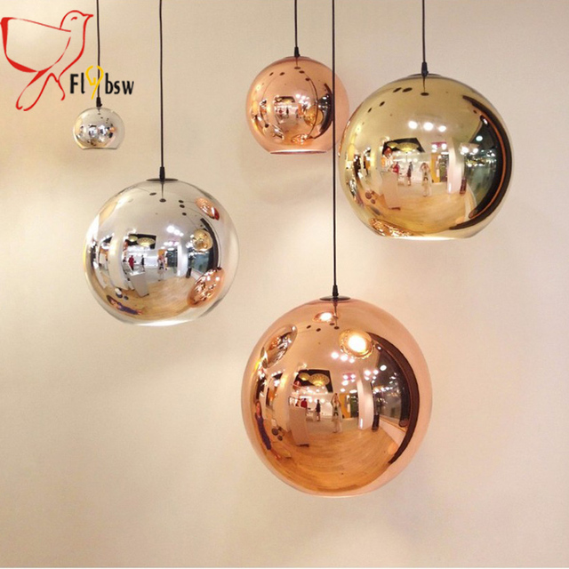 Dia 25 40cm modern electroplate glass pendant lampcoppersilver dia 25 40cm modern electroplate glass pendant lampcoppersilvergold color aloadofball Choice Image