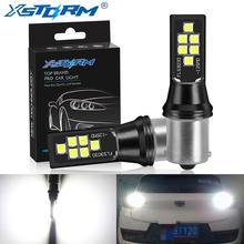 2Pcs 1156 BA15S P21W LED BAU15S PY21W LED 1157 BAY15D P21/5W R5W Auto Light Bulbs Car Turn Signal Lamp White Yellow Red 12V 24V