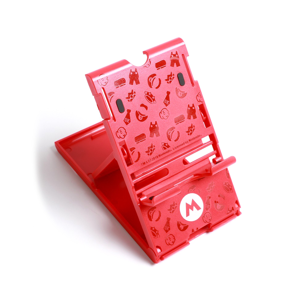 Foldable ABS Compact Bracket Play Hard Holder Adjustable Stand for Nintend Switch For NS Console Controller 2