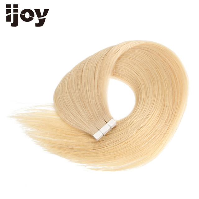 Blonde Brazilian Straight Remy Tape Hair Tape On 100 Human