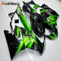 Custom order+green black motorcycle cowl for CBR600F2 1991 1994 CBR600 F2 91 92 93 94 ABS Plastic motorcycle fairing