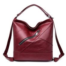 2019 nouvelle marque de luxe sac femmes en cuir véritable dames sac à bandoulière Vintage mode femme fourre tout sacs pour femmes Bolsa Feminina