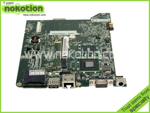 DA0ZG5MB8F0 MB.S0506.001 Laptop Motherboard for acer aspire ZG5 one A150 mini laptoCPU Intel N270 Full Tested free shipping