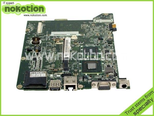 Da0zg5mb8f0 mb. s0506.001 madre del ordenador portátil para acer aspire zg5 one a150 mini laptocpu intel n270 probó por completo el envío libre