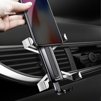 Baseus Car Phone Holder For IPhone X 8 Samsung S9 Huawei Xiaomi Cell Phone Holder Spiderman