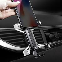 Baseus Car Phone Holder For IPhone X 8 7 Samsung Huawei Xiaomi Phone Car Holder Spiderman