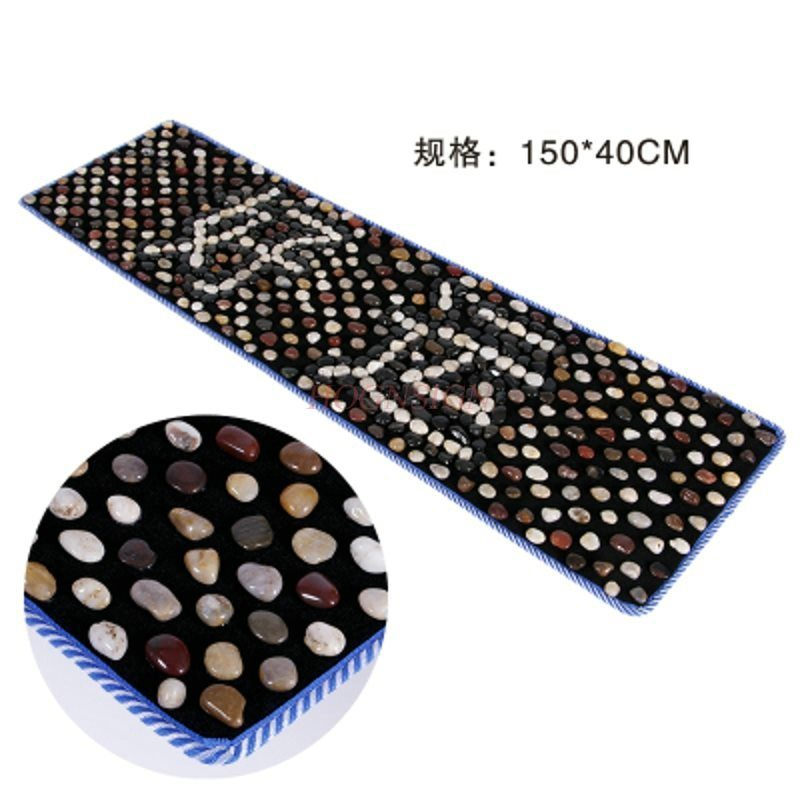 Cobblestone Foot Massage Cushion Stone Road Finger Pressure Plate Pad Super Painful Rain Massager Walkin Point Care Tool household natural stone cobblestone foot massage pad foot massage device stone pad blanket mat plate health care 40 70cm