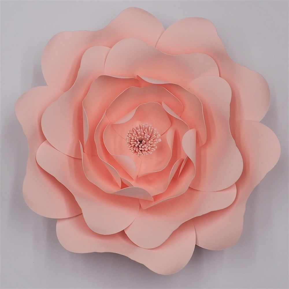 Video Tutorials DIY Giant Paper Flowers Flores