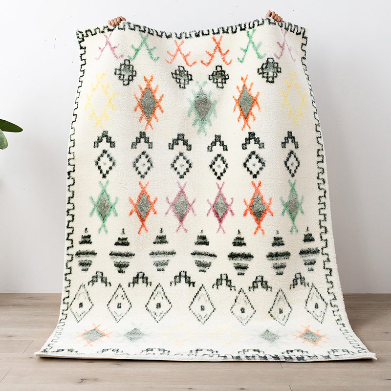 Moroccan Style Area Rugs For Living