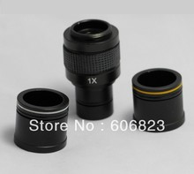Cheap price New Microscope 1X C-mount adapter 4 CCD Camera Digital with 2 Eyepiece adapters 23.2mm 30mm 30.5mm tube