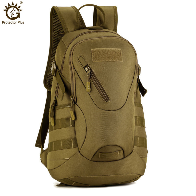 3D Outdoor Military Army Tactical Backpack 20L Waterproof Travel Backpack Rucksack Camping Hiking Trekking Camouflage Bag