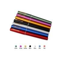 Portable Pocket Mini Fishing Combo Metal Rod +Spinning Reel Wheel Telescopic Fishing Pole Pen Shape Foldable 7 Rod Combo     -