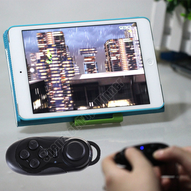 100% New Arrival Wireless Bluetooth Game Controller Gamepad Joystick for Android / iOS Smart Phone Smartphone Hot sale