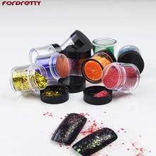 Nails Glitter Nail Art Powder Unha Gliter Ongle Paznokcie Pigment Glitters Poudre Brillantim Dust Sparkles Materiel Nagels Laser