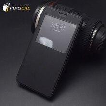 Oukitel K6000 Pro Чехол с Вид из окна Роскошные защитный кожаный чехол флип чехол для мобильного телефона