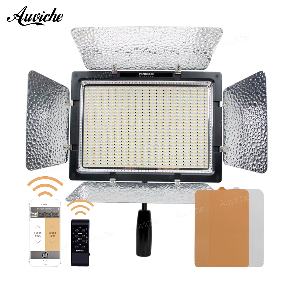 Yongnuo YN900 YN-900 3200-5500K LED Video light Fill light Adajustable APP wireless remote control