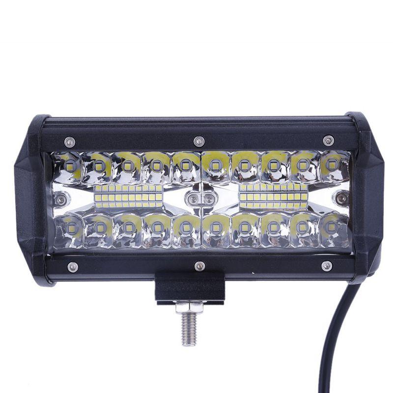 Автомобильные аксессуары светодиодный автомобиля светодиодный свет город 2 шт. 4 120 Вт светодиодный свет работы Off Road вождения местная пото...