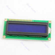 OOTDTY LCM 1602 16x2 HD44780 Controller Blue Blacklight Character LCD Module Display