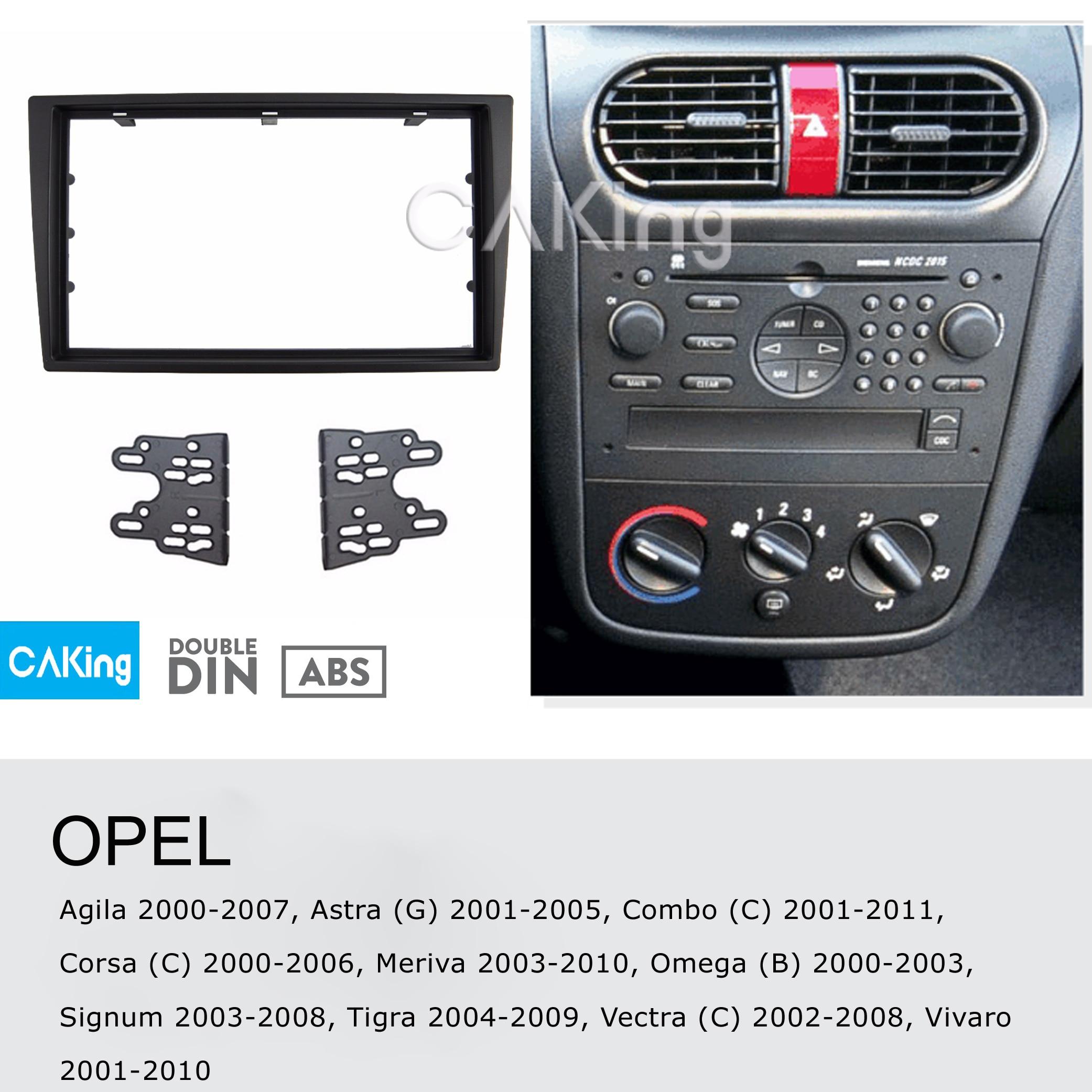 HB 1x maqueta delantero negro para Opel Agila año 2008-2015
