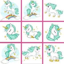 ZOOYA 5d Diamond Painting Diy unicorn Embroidery Cartoon pony childs birthday Gift Mosaic Sale Full Square Drill FDA