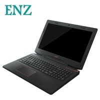 ENZ N36 ноутбук 15,6 дюймов Gamebook 1920*1080 TN тетрадь окна 10 i7 6700HQ RX560 16 ГБ + 240 SSD 1 ТБ HDD 4 ядра GDDR5 компьютер