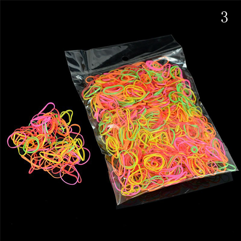 Approx. 100/200/1000pcs/bag Office Rubber Ring Rubber Bands Strong Elastic Stationery Holder Band Loop School Office Supplies Pakistan