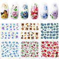 Candy Lover Manicure Mixed Styles Nail Stickers Beautiful Decals 3D 6pcs/lot Cute Angel Design Water Stickers Nail Art Tools