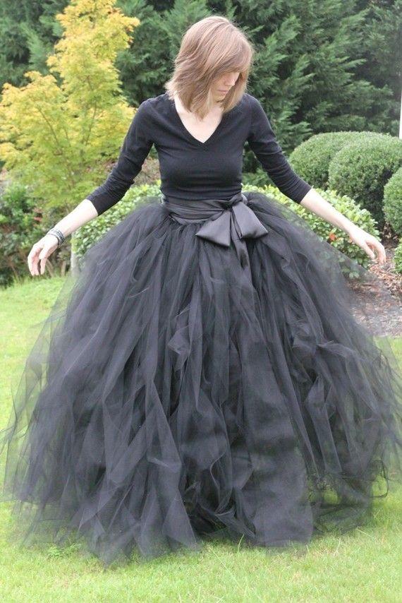 Las Capas Del Longitud Piso Negro Para Más Fajas Faldas La Con Fiesta Bola Vestidos De Tulle Tamaño Graceful 2016 Plisado Noche Mujeres 6YwqZOfq