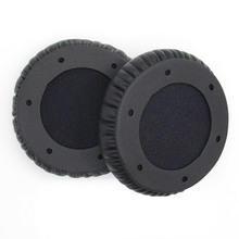 лучшая цена High quality Protein Soft Leather Replacement Ear Pads for SOL REPUBLIC Tracks HD V10 Portable Headphones Cover Earpad