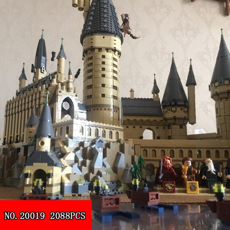 Compatible 16060 Harry Magic Potter Hogwarts Castillo escuela Kit construcción bloques juguete modelo 6742 piezas regalo