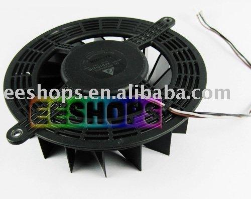 Original Interna Del Ventilador de Refrigeración 17 Cuchillas KFB1012HE para Sony PS3 Slim 2000 160 GB 320 GB Consola de Juegos CECH-25XX Reemplazo parte