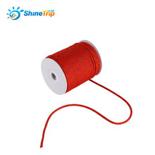 30M 50M Long Nylon Reflective Camping Tent Rope String Windproof Guy Line Awning Shelter Sunshade Kit 5MM Durable Hike Accessory(China)