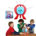 Novo Jogo Prático Piadas Gags Brinquedos Cutucando Boom Boom Balão Família diversão Brinquedos Engraçados do Jogo de Tabuleiro de Natal Presente de Ano Novo para Crianças