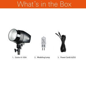 Image 2 - Godox K 180A 180W Monolight Photography Photo Studio Strobe Flash Light Head (Mini Master Studio Flash)