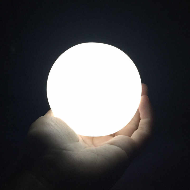 SXZM Built-in battery Creative Round Led Moon light Gift Mini Moon Lamp Night Light LED Table Lamp Decoration For Kids Baby Room