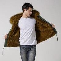 זכר פו פרווה בטנת חורף עם מעיל גדול דביבון הפרווה הוד סיטונאי מחיר זול
