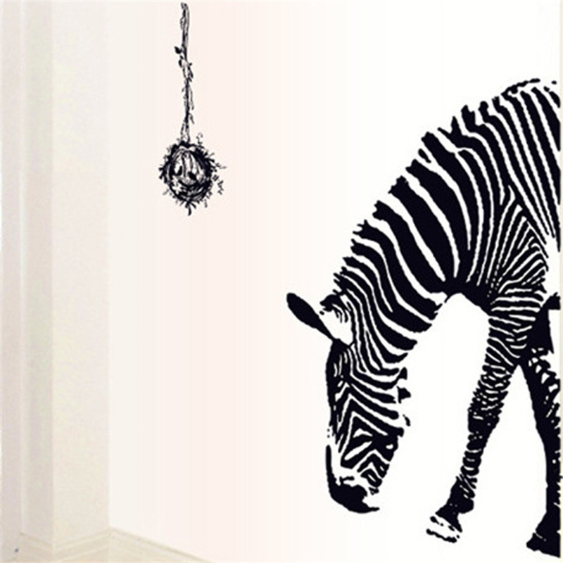 Captivating Aliexpress.com : Buy 60*90cm Zebra Wall Stickers Bedroom Home Decor Living  Room Fashion Home Decoration Door Stickers From Reliable Zebra Wall Stickers  ... Part 26