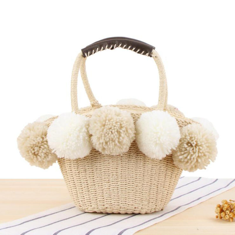 HTB1y9pVacfrK1RkSnb4q6xHRFXaL - Women Handbag Female Big Travel Vacation Totes Bamboo Handbag For Ladies Handmade Woven Straw Beach Bag Summer Women's Purse