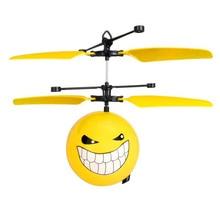 Meilleur Vendeur-Upgrate-Classique Électrique Électronique Toys RC Vol expression de Bande Dessinée avions Suspension capteur avions Pour Enfants