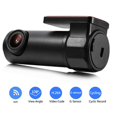 170 Degree Wide Angle Mini Night Vision Driving Recorder Wifi HD Car DVR Dash Cam 30 fps Car DVR Camera portable mini night vision 170 degree wide angle full hd 1080p dash camera car dvr car recorder 1 5 inch wifi gps camera