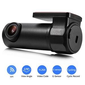 Image 2 - HD Автомобильная DVR камера Wifi Даш камера 170 градусов широкий угол мини ночного видения Авто Вождение видео рекордер 30fps автомобиль камера для приборной панели