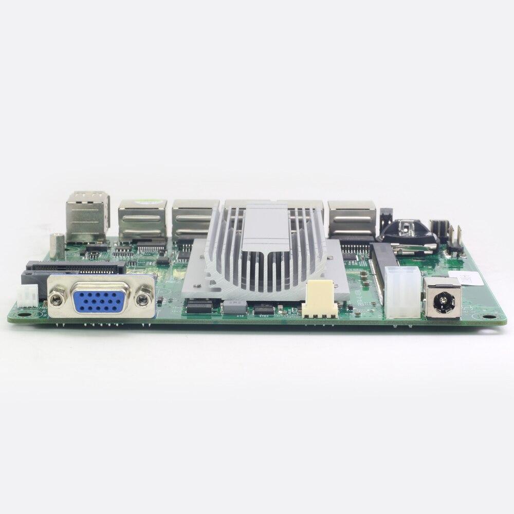 Mini carte mère ITX Intel Celeron J1800 avec 4x1000 Mbps Intel Gigabit Ethernet USB VGA RJ45 pare-feu routeur appareil Pfsense - 4