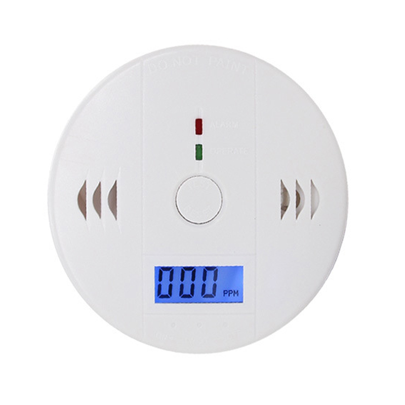 Home Security Gas Detector Alarm Wireless Carbon Monoxide Sensor High Sensitive LCD CO Detector for Home ...