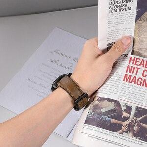 Image 3 - إكسسوارات ساعات يد من CHIMAERA حزام ساعة 22 مللي متر 24 مللي متر حزام ساعة من جلد البقر العتيق لساعة ساعة يد من فوسيل