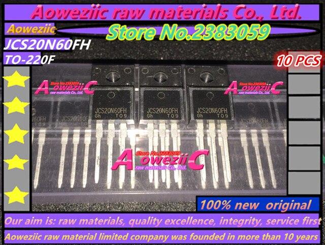 Aoweziic 100% nieuwe originele JCS20N60FH 20N60 TO 220F Veld effect transistor 600 V 20A