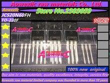 Aoweziic transistor de 100% con efecto de campo, TO 220F original, JCS20N60FH 20N60, 600V 20A