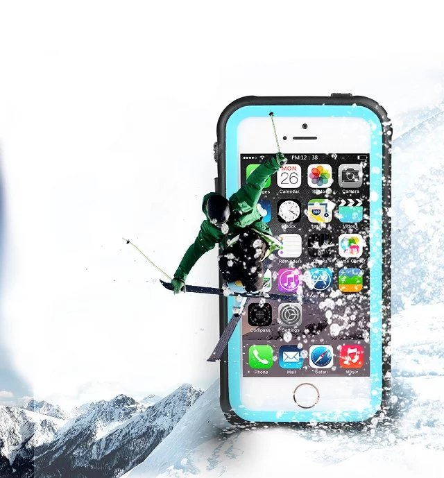 Redpepper Waterproof Case Diving Underwater Watertight Cover For Iphone 5 5S SE Water Shock Dirt Snow
