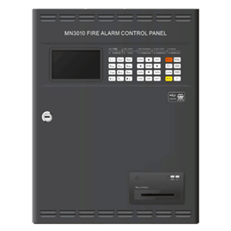 Addressable  Fire Alarm Control Panel   Intelligent FACP Only A Loop For 100 Addressable